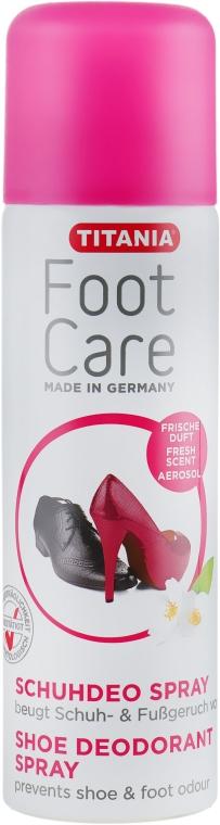 Дезодорант для обуви - Titania Foot Care Spray