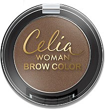 Духи, Парфюмерия, косметика Тени для бровей - Celia Woman Brow Color