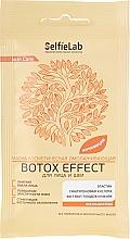 Духи, Парфюмерия, косметика Омолаживающая несмываемая маска для лица и шеи - Selfielab Botox Effect