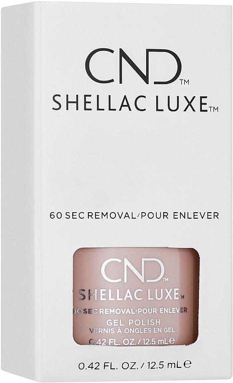 Гель-лак для ногтей двухфазный - CND Shellac Luxe