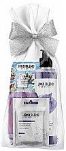 Духи, Парфюмерия, косметика Подарочный набор - Joko Blend Purple Space Set (f/mask/20g + sh/gel/260ml + bath/powder/200g + stickers)