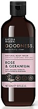 Парфумерія, косметика Гель для душу - Baylis & Harding Goodness Rose & Geranium Natural Body Wash