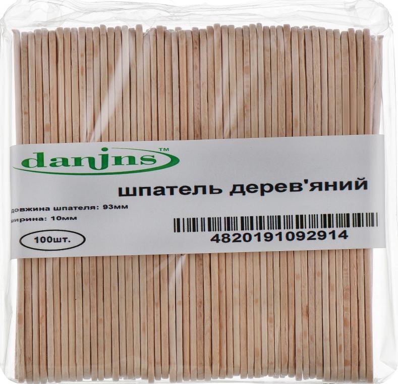 Шпателя деревянные маленькие - Danins