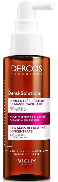 Концентрат для увеличения густоты волос - Vichy Dercos Densi-Solutions Hair Mass Recreator Concentrate