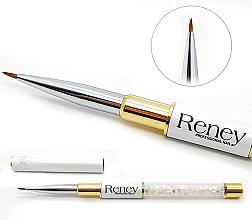Духи, Парфюмерия, косметика Кисть для дизайна ногтей - Reney Cosmetics Pro Detailer AN01