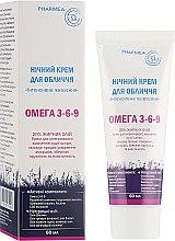 """Ночной крем для лица """"Интенсивное питание"""" - Pharmea Omega 3-6-9 — фото N1"""