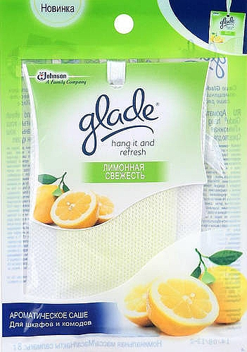 """Ароматическое саше """"Лимонная свежесть"""" - Glade Hang It And Refresh"""