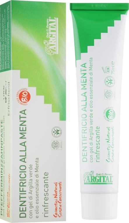 Зубна паста Мята - Argital Mint Toothpaste