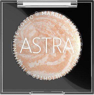 Запеченный хайлайтер - Astra Make-Up Marble Fusion Baked Highlighter