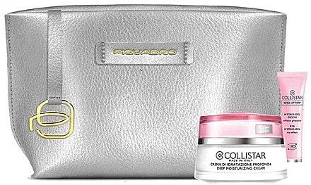 Набор - Collistar (eye/gel/8,5ml + cr/50ml + bag)
