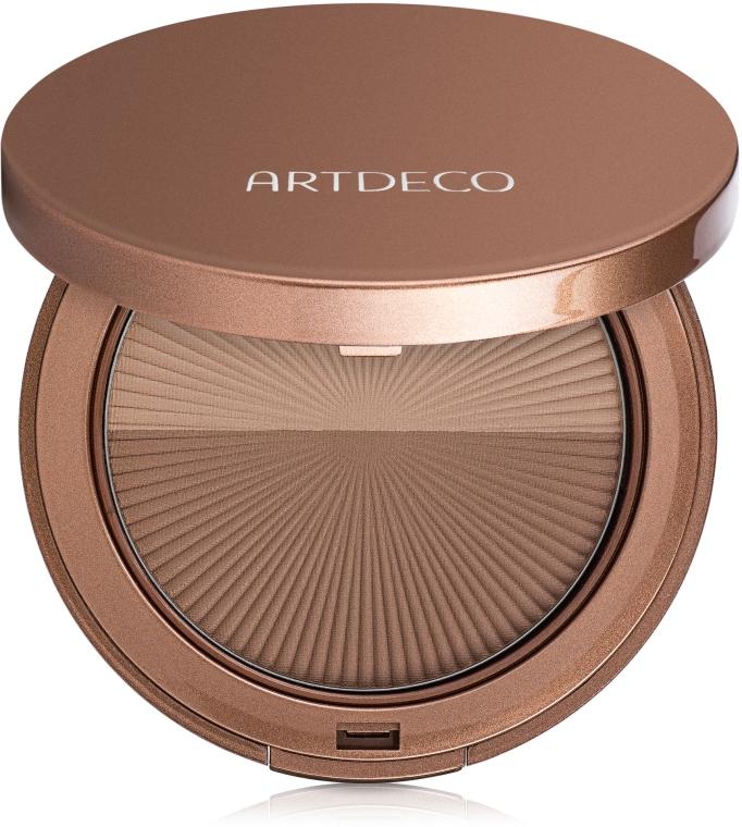 Бронзовая компактная пудра - Artdeco Bronzing Powder Compact