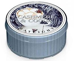 Духи, Парфюмерия, косметика Чайная свеча - Kringle Candle Daylight Cashmere & Cocoa