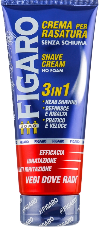 Крем для бритья без пены - Mil Mil Figaro Shaving Cream No Foam