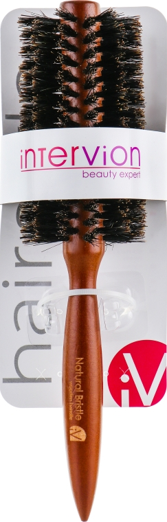 Щетка для волос, круглая - Inter-Vion Hairbrush