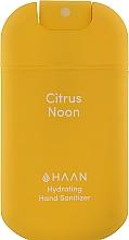"""Духи, Парфюмерия, косметика Очищающий и увлажняющий спрей для рук """"Освежающий лимон"""" - HAAN Hand Sanitizer Citrus Noon"""