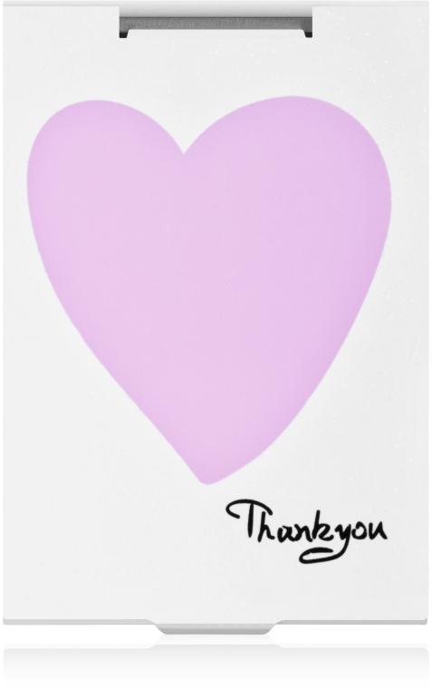 """Зеркало прямоугольное """"Thank You"""" с сердечком - Rapira"""