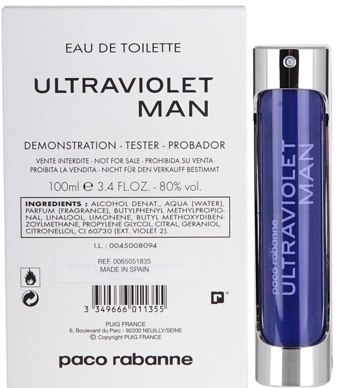 Paco Rabanne Ultraviolet Man - Туалетная вода (тестер) — фото N3