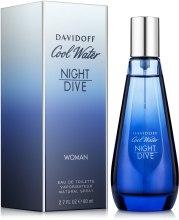 Духи, Парфюмерия, косметика Davidoff Cool Water Night Dive Woman - Туалетная вода