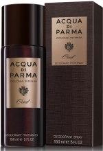 Парфумерія, косметика Acqua di Parma Colonia Oud Deodorant Spray - Дезодорант-спрей