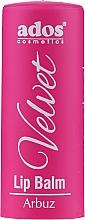 Духи, Парфюмерия, косметика Бальзам для губ - Ados Cosmetics Velvet Lip Balm