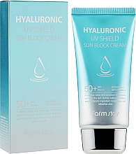 Духи, Парфюмерия, косметика Солнцезащитный крем с гиалуроновой кислотой - FarmStay Hyaluronic UV Shield Sun Block Cream SPF50+