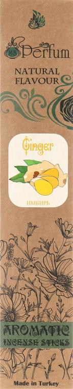 Аромапалочки с успокаивающим ароматом имбиря - MSPerfum