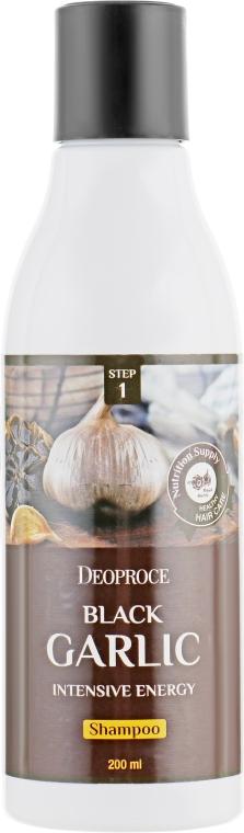 Интенсивный шампунь для волос с черным чесноком - Deoproce Black Garlic Intensive Energy Shampoo