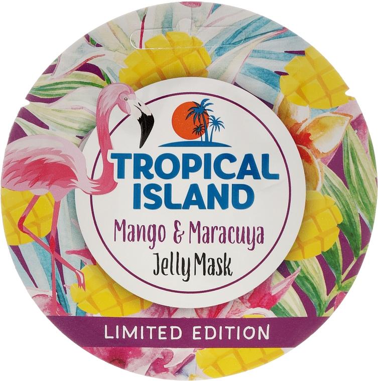 Регенерирующая гелевая маска с манго и маракуйей - Marion Tropical Island Mango Maracuya Jelly Mask