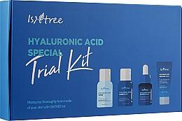 Духи, Парфюмерия, косметика Набор - Isntree Hyaluronic Acid Special Trial Kit (ess/15ml + gel/cr/15ml + ton/20ml + ton/20ml)