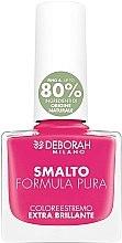 Духи, Парфюмерия, косметика Лак для ногтей - Deborah Smalto Formula Pura Nail Enamel