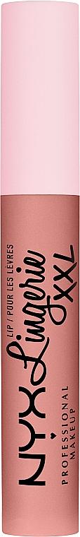 Жидкая матовая помада для губ - NYX Professional Makeup Lip Lingerie XXL
