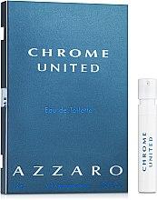 Духи, Парфюмерия, косметика Azzaro Chrome United - Туалетная вода (пробник)