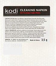 Парфумерія, косметика Очищувальні серветки з ензимним пілінгом - Kodi Professional With Enzyme Peel
