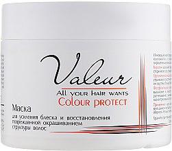 Маска для усиления блеска и восстановления поврежденной структуры волос - Liv Delano Valeur — фото N1