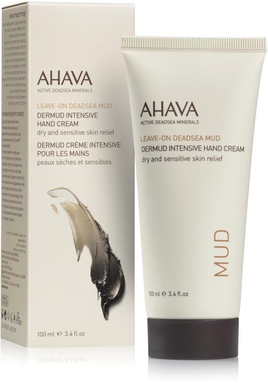 Крем питательный для рук - Ahava Dermud Hang Cream Dry & Sensitive Relief