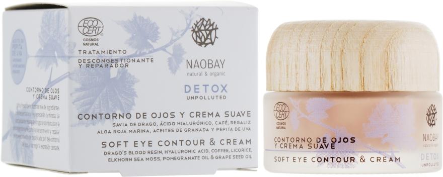 Крем под глаза - Naobay Cosmos Detox Soft Eye Contour&Cream