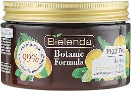 Духи, Парфюмерия, косметика Скраб для тела - Bielenda Botanic Formula Body Scrub Lemon Tree & Mint