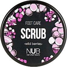 Духи, Парфюмерия, косметика Скраб для ног - NUB Foot Care Scrub Wild Berries