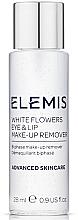 Духи, Парфюмерия, косметика Двухфазный лосьон для демакияжа - Elemis White Flowers Eye & Lip Make-Up Remover