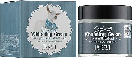 Отбеливающий крем с экстрактом козьего молока - Jigott Goat Milk Whitening Cream