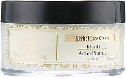 Духи, Парфюмерия, косметика Аюрведический анти-акне крем против прыщей и угрей - Khadi Natural Herbal Acne Pimple Cream