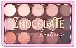 Духи, Парфюмерия, косметика Палетка теней - Vivienne Sabo Chocolate Bonbons Eyeshadow Palette