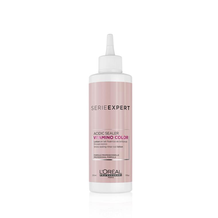 Молочко для сияния цвета окрашенных волос - L'Oreal Professionnel Serie Expert Vitamino Color Acidic Sealer Shine Sealing Rinse-out Lotion