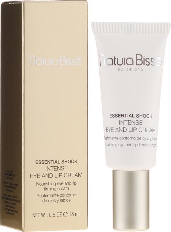 Интенсивный крем для ухода за сухой кожей в области глаз и губ - Natura Bisse Essential Shock Intense Eye and Lip Treatment SPF15