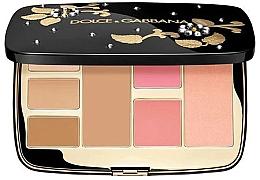 Духи, Парфюмерия, косметика Многофункциональная палетка для макияжа лица - Dolce&Gabbana All-In-One Face Palette
