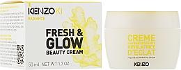 Духи, Парфюмерия, косметика Крем для свежести и сияния кожи лица - Kenzoki Fresh & Glow Beauty Cream