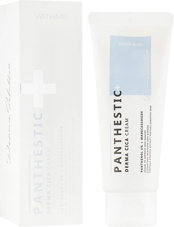 Крем для лица успокаювающий - Panthestic Derma Cica Cream