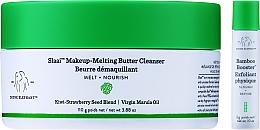 Духи, Парфюмерия, косметика Набор - Drunk Elephant Slaai Makeup-Melting Butter Cleanser (cleanser/110g + booster/3g)
