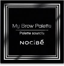 Палетка для бровей - Nocibe My Brown Palette — фото N2