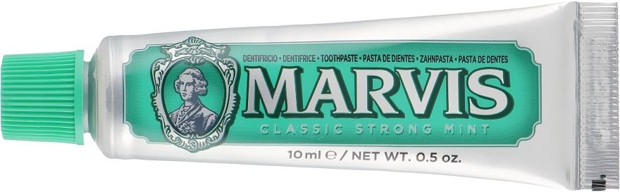 Зубная паста - Marvis Classic Strong Mint (мини)